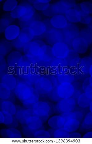 blue bokeh effect. bokeh effect.  background bokeh. LED light.