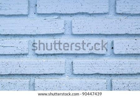 blue brick wall texture background