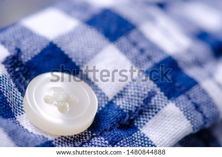 Blue cage shirt material fabric material texture blur background macro #1480844888
