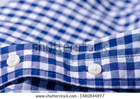 Blue cage shirt material fabric material texture blur background macro #1480844897
