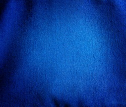 Blue canvas fabric background