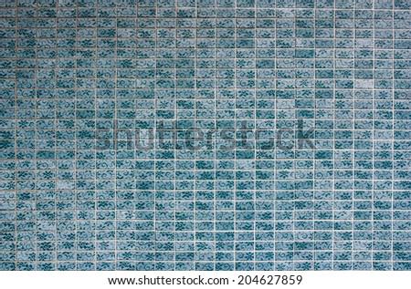 Blue ceramic Wall background. #204627859