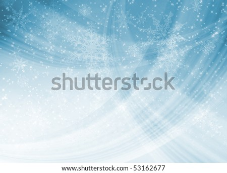 Blue Christmas pattern for backgrounds and fills