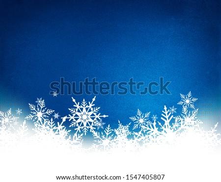Blue Christmas snowflakes background for Chrismas