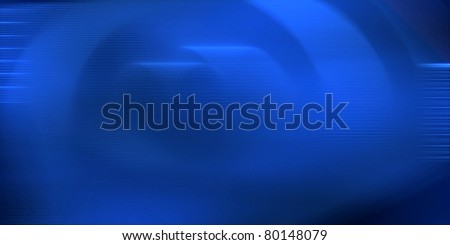 Blue circular abstract graphic image background