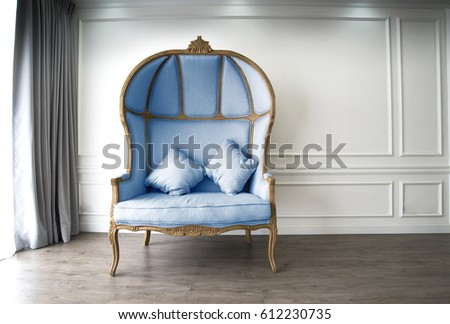 blue classical and modern half...