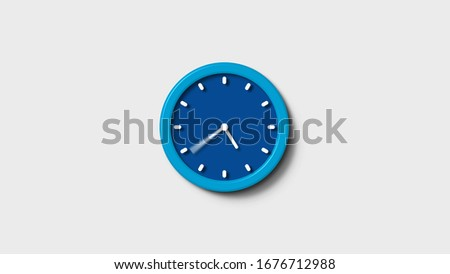 Blue clock icon,New wall clock icon,Clock counting down animation images,clock icon