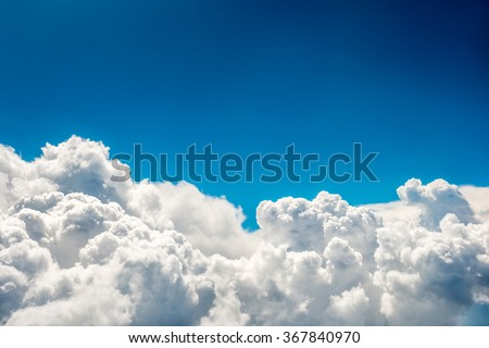 stock photo blue clouds and sky natural cloudscape background 367840970 - Каталог — Фотообои «Природа, пейзаж»