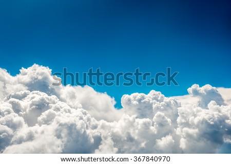 stock photo blue clouds and sky natural cloudscape background 367840970 - Каталог — Фотообои «Природа, пейзаж»