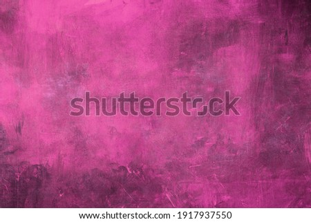Blue color abstract painting background or texture
