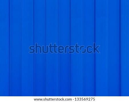 Blue color metal sheet for background