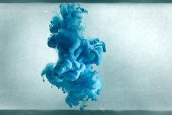 blue color pigment cloud vintage look