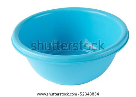 Blue+plastic+bowl