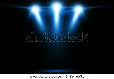 Blue color spotlight design abstract background. #549646531