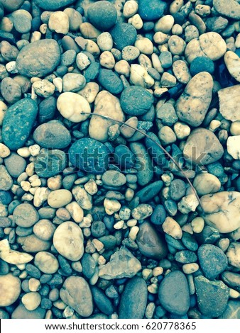 Blue color stone texture background - Shutterstock ID 620778365