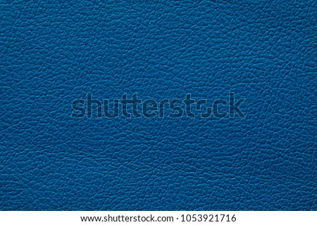 blue colored leather texture #1053921716