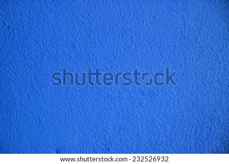Blue Concrete Wall as Background