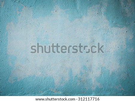 Blue concrete wall texture grunge style