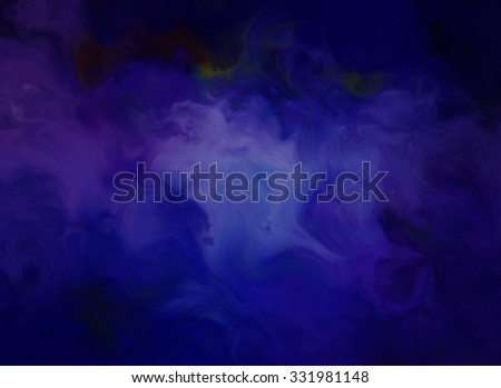 Blue creative abstract grunge background - Shutterstock ID 331981148