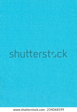 Blue  crepe paper background.