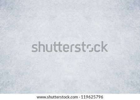 Blue cristal clear snow surface