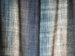 Blue curtain texture.