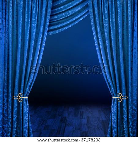 Dark Blue Curtains Blinds Shades Curtains