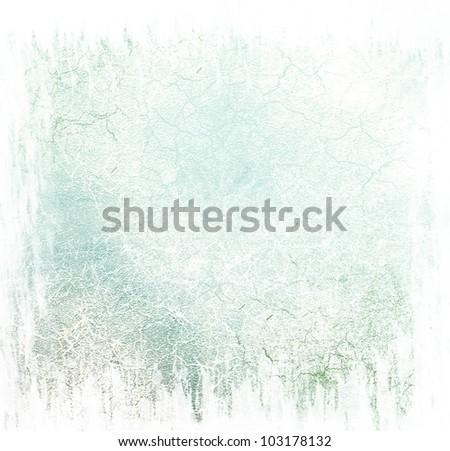 Blue damaged background