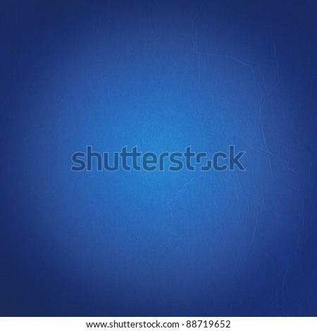 Blue dark wall background or texture