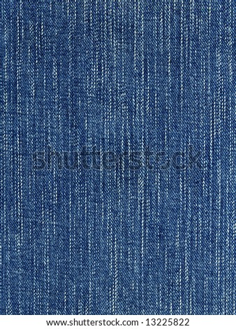 Blue denim fabric background. Close-up of jeans.