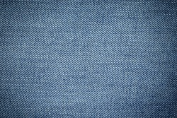 Blue denim jean texture and background