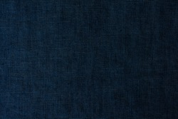 Blue denim jeans background, a close up jeans texture and pattern.