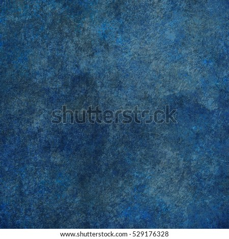 Blue designed grunge texture. Vintage background with space for text or image #529176328