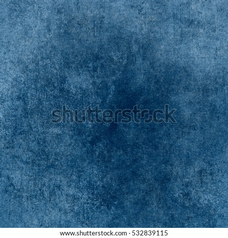 Blue designed grunge texture. Vintage background with space for text or image #532839115