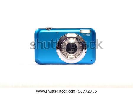 Blue Digital Camera