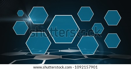 Blue digital data