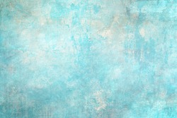 Blue distressed backdrop, grunge background or texture