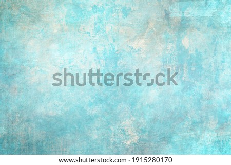 Blue distressed backdrop, grunge background or texture  Foto d'archivio ©