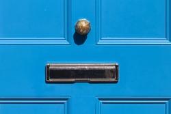 Blue Door in Bray Wicklow Ireland