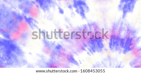 Blue Ethnic Organic Spatter. Aquarelle Grunge Wash. Future Background Retro Craft Messy Texture. Flowing Splattered Dye Art. Violet Dirty Watercolor Splatters. Bright