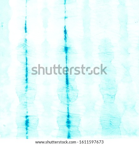 Blue Ethnic Pattern Design. Tribal Abstract Background.  Paint Spray Cyan Ethnic Art Design. Blue Abstract Tribal Artwork. Indigo Batik Pattern.  Blue Light Turquoise
