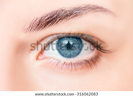 Blue eyes Foto stock ©