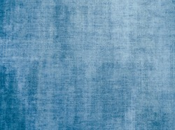 Blue Fabric Woven Texture Pattern Background. Vintage Cloth Texture and Seamless Background.