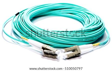 Blue Fiber optic - Type LC