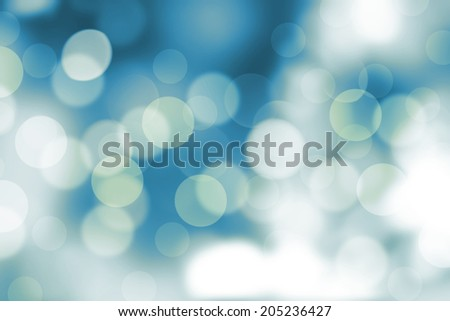 Blue filtered natural bokeh background.
