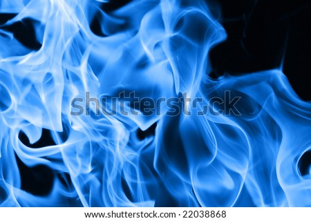 Blue Fire Backgrounds Blue Flames of Fire Background