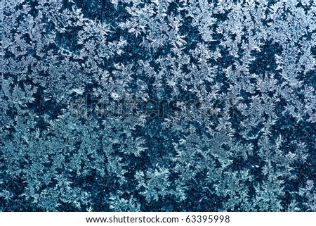 blue frost background