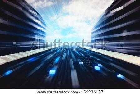 futuristic road wallpaper - photo #12
