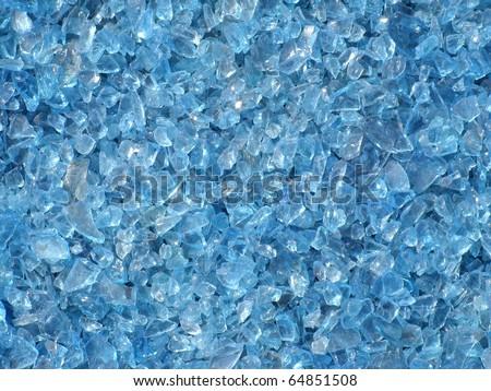 blue glass texture background