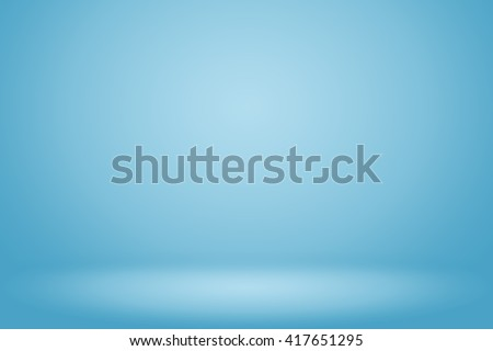 Blue gradient abstract background empty room with space for your text and picture #417651295